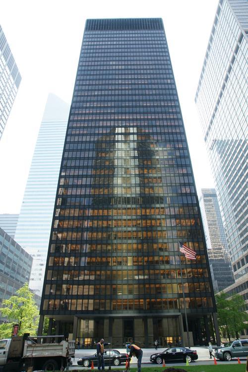 Seagram Building New York City Skyscraper